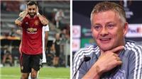 MU: Solskjaer ca ngợi cách đá penalty của Bruno Fernandes