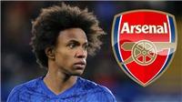 Arsenal: Phải sa thải 55 nhân viên nhưng vẫn trả lương cực khủng cho Willian