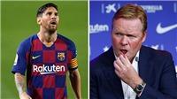Messi cắt ngắn kỳ nghỉ gặp tân HLV Barcelona, nói rõ kế hoạch tương lai