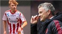 Chuyển nhượng bóng đá Anh: MU đón tân binh từ Na Uy. Chelsea đạt thỏa thuận với Ben Chilwell