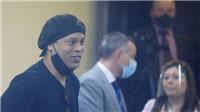 Ronaldinho được xóa án, rời Paraguay
