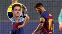 Messi rời Barca là 'sự phản bội lớn nhất lịch sử bóng đá'