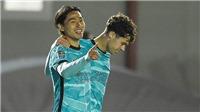 Sao Nhật Bản Minamino rực sáng, Liverpool đại thắng 7-2 ở cúp Liên đoàn Anh