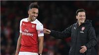 Aubameyang vượt Oezil, trở thành cầu thủ nhận lương cao nhất Arsenal