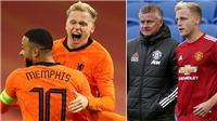 MU: Van de Beek sẽ đá chính ở vị trí mới?