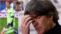 Joachim Loew không thể giải thích cho thảm bại của tuyển Đức