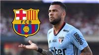 Daniel Alves: 'Tôi muốn trở lại Barca nhưng họ không đủ dũng khí để nhận sai'