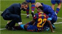 Ansu Fati chấn thương:Chiến bại của Barcelona