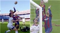 Messi suýt tái hiện 'Bàn tay Chúa' của Diego Maradona