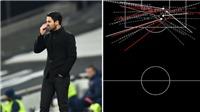 Arsenal tạt 44 lần trước Tottenham, fan nhớ về MU của David Moyes