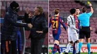 """Dybala bật cười khi HLV Koeman quát cầu thủ Juve """"im mồm lại"""""""