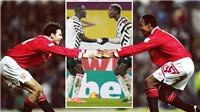 MU: Pogba và Bailly gây sốt với màn ăn mừng gợi nhớ Giggs và Paul Ince