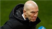 Zidane: 'Không có gì phải xấu hổ khi thua đội hạng 3 cả'
