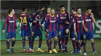 Không Messi, 2 lần đá hỏng phạt đền, Barca chật vật ở Cúp Nhà Vua