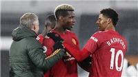 Tin bóng đá MU 25/1: Rashford chấn thương. MU tranh Upamecano với Liverpool