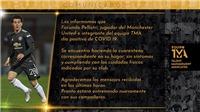 Bóng đá hôm nay 8/1: Một sao MU nhiễm COVID-19. FA thừa nhận Cavani không phân biệt chủng tộc