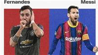 MU: Bruno Fernandes sắp san bằng thành tích ghi bàn và kiến tạo của Messi