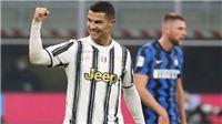Ronaldo lập cú đúp, Juventus ngược dòng thắng Inter Milan