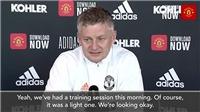 Solskjaer: 'Sự cố trận Chelsea như nước trôi qua cầu. Tôi tin vào nhân quả'