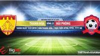 Soi kèo bóng đá: Thanh Hóa đấu với Hải Phòng (18h00 hôm nay). Trực tiếp V League 2019