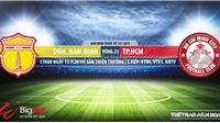 Trực tiếp bóng đá: Nam Định vs TPHCM (17h00 hôm nay). Soi kèo Nam Định đấu với TPHCM, V League 2019