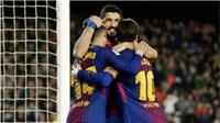 Barcelona 6-1 Girona: Messi tuyệt đỉnh, Suarez lập hat-trick, Coutinho nổ súng