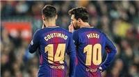 Coutinho ngả mũ bái phục trước 'phép màu' Messi