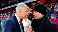 Xôn xao dự đoán điều Wenger nói với Guardiola trước khi Arsenal thua Man City
