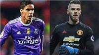 CẬP NHẬT tối 5/3: Real muốn M.U đổi De Gea lấy Varane. Suarez xác nhận tương lai Griezmann tại Barca