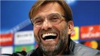 HLV Klopp: 'Các cầu thủ Liverpool có trần truồng cũng không ai thấy'
