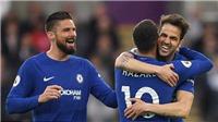 CẬP NHẬT sáng 29/4: Fabregas giúp Conte lập kỷ lục sau trận thắng Swansea. Mourinho chốt 2 hợp đồng khủng