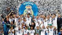 CHÙM ẢNH: Real Madrid lần thứ 3 liên tiếp vô địch Champions League