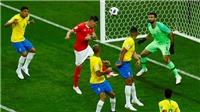 Nếu trọng tài áp dụng VAR, bàn thắng của Thụy Sĩ vào lưới Brazil đã không tồn tại