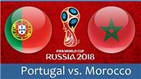 Xem trực tiếp trận Bồ Đào Nha - Morocco (19h00, 20/6) ở đâu?