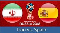 Video clip highlights bàn thắng trận Iran 0–1 Tây Ban Nha