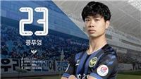 Công Phượng nói gì về việc dự bị tại Incheon United?