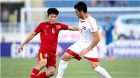 U23 Việt Nam là hạt giống số 1 vòng loại U23 châu Á