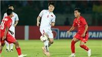 Tuyển Việt Nam chỉ tập 1 buổi trước trận gặp Campuchia, HLV Honda nói gì?