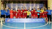 Cầu thủ U19 Việt Nam gãy tay, tuyển futsal Việt Nam giành ngôi Á quân tại Trung Quốc