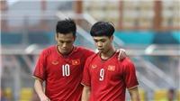 Công Phượng đang chịu áp lực, tiền vệ U23 Việt Nam cầu may mắn