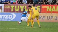 Hà Nội FC vất vả hòa Quảng Nam, Than Quảng Ninh chia điểm SLNA (KT)