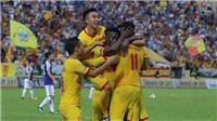 Trực tiếp bóng đá: Nam Định đấu với SLNA (17h00), V-League 2019