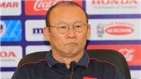 Bóng đá Việt Nam 1/6: Ông Park nổi cáu vì '300 hay 3 triệu phóng viên muốn làm HLV'