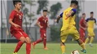 HLV Park ngồi khán đài chỉ đạo, U23 Việt Nam vất vả đánh bại U18 Việt Nam