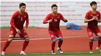 Bóng đá Việt Nam ngày 27/11: U22 Việt Nam mất quân trước trận gặp Lào, đổi sân tập