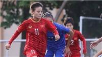 Trực tiếp bóng đá nữ Việt Nam đấu với nữ Indonesia, SEA Games 30. Xem VTV5, VTV6