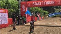 Xe đạp 'mở hàng' HCV SEA Games 30 cho thể thao Việt Nam