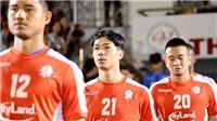 Bóng đá Việt Nam hôm nay: HAGL gặp Hà Tĩnh. TPHCM đấu Bình Dương