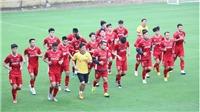 Tuyển thủ Việt Nam ép cân, HLV Calisto tái ngộ lứa cầu thủ vô địch AFF Cup 2008