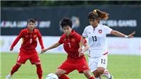 Kết quả bóng đá: Tuyển nữ Việt Nam bị Thái Lan cầm hòa phút cuối